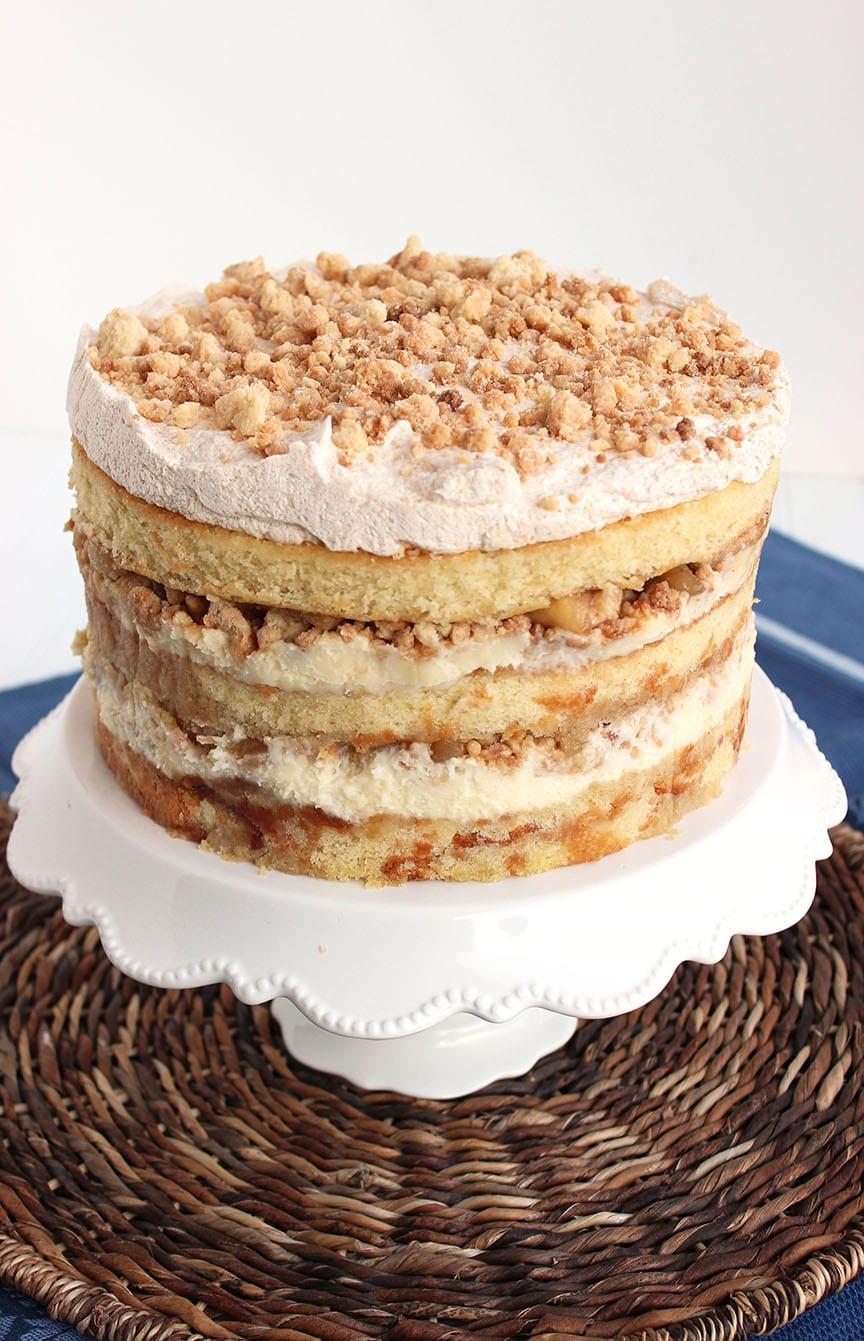 Apple Pie Layer Cake   The Suburban Soapbox