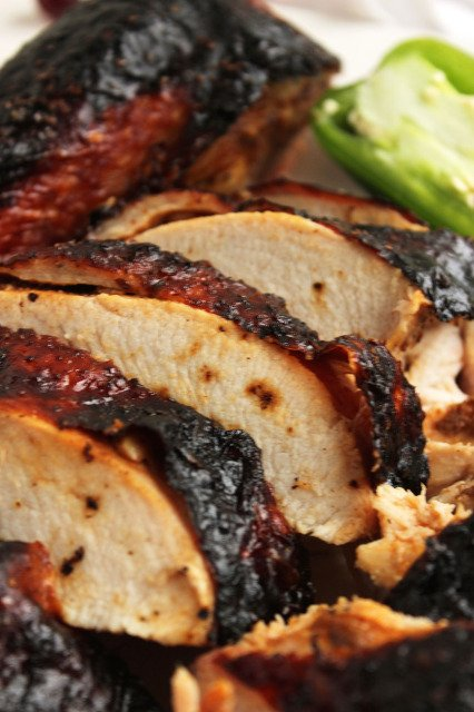 Blackened Honey Chipotle Roast Turkey | The Suburban Soapbox