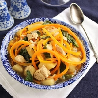 Chicken Butternut Noodle Soup 15