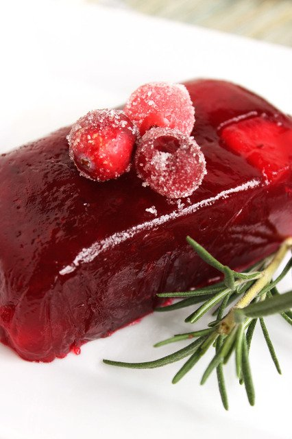 Jellied Cranberry Sauce Fuji Apple Jellied Cranberry Sauce The