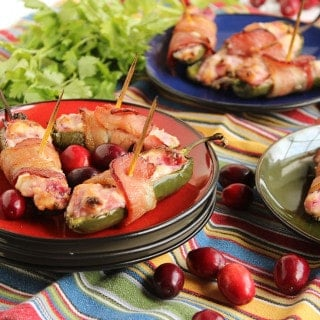 Cranberry Cream Cheese Jalapeno Poppers 2