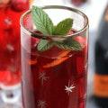 Cranberry Pomegranate Bellini 6