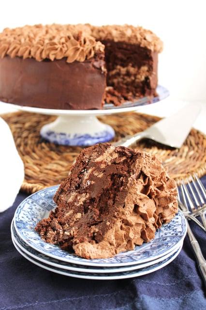 Death by Chocolate Layer Cake | The Suburban Soapbox #chocolatecake