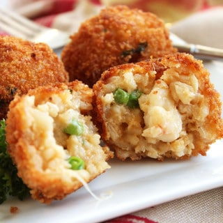 Easy Lobster Arancini
