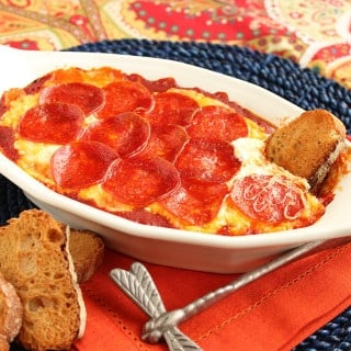 Pepperoni Pizza Dip 7