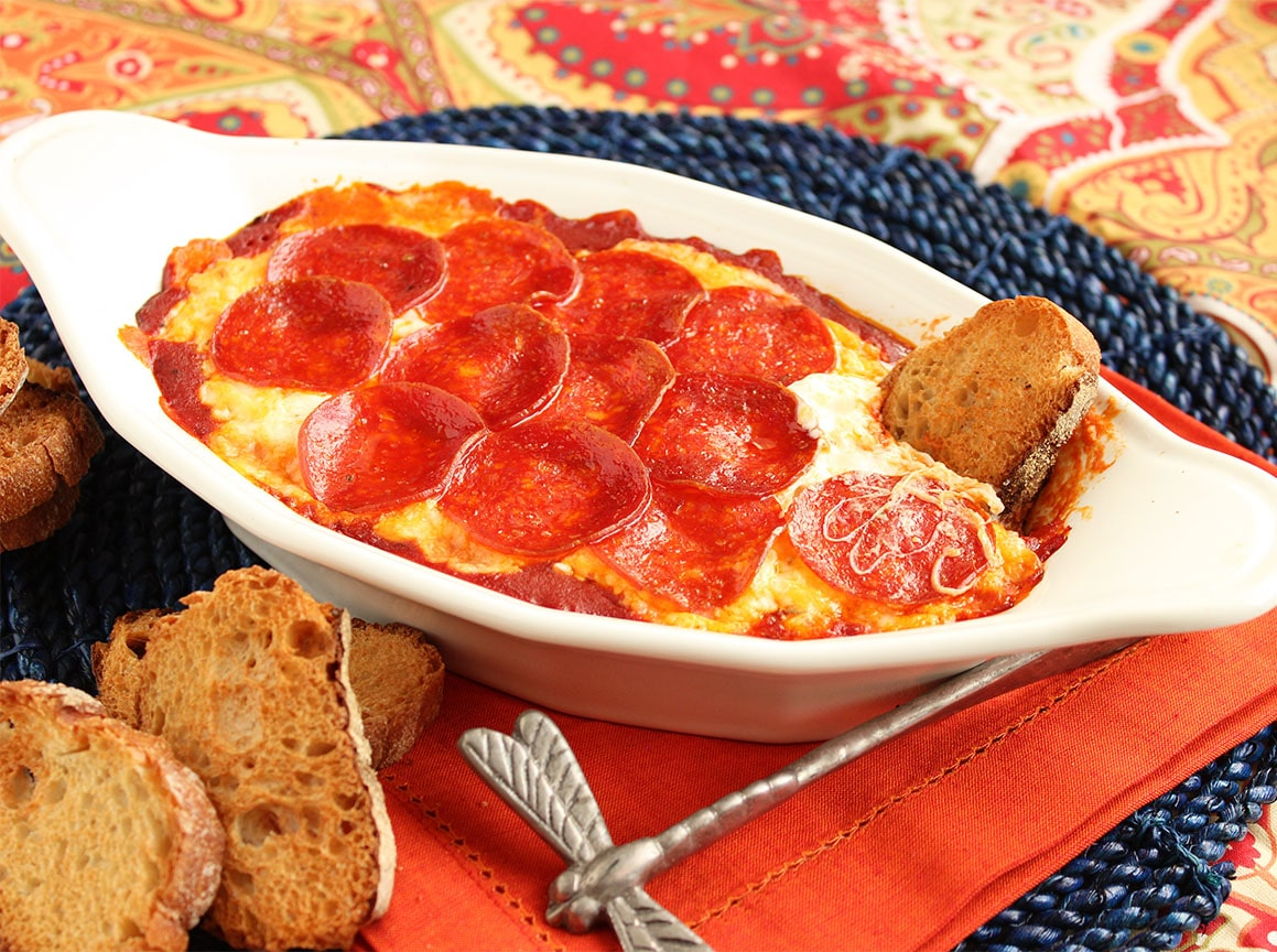 Pepperoni Pizza Dip - The Suburban Soapbox