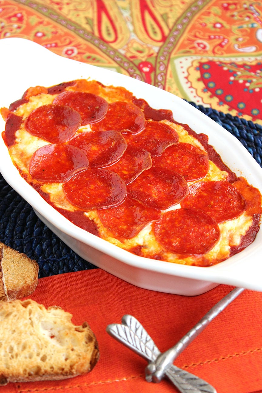 and tangy….Pepperoni Pizza Dip is just like your favorite pizza ...