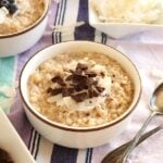 Slow Cooker Spiced Coconut Oatmeal 8