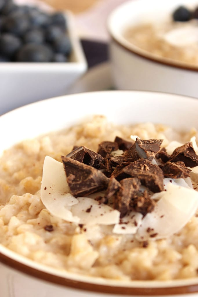 Slow Cooker Spiced Coconut Oatmeal   The Suburban Soapbox #slowcooker #breakfast