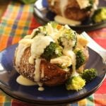Broccoli and Chicken Potato 6