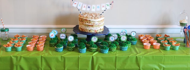 How to Plan a Pinterest Party on a Budget | The Suburban Soapbox  #pinterestparty #dinosaurparty