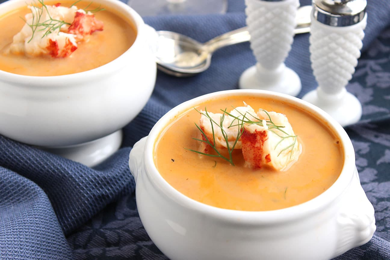 Easy Lobster Bisque - The Suburban Soapbox