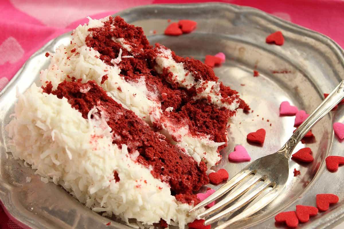 Red Velvet Cake Milk Frosting