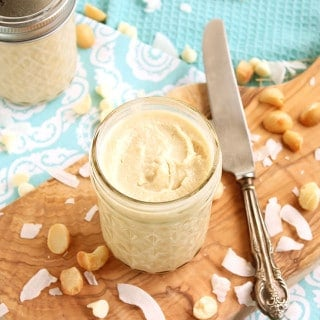 White Chocolate Macadamia Coconut Butter