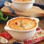 Cheesy Baked Tomato Bisque