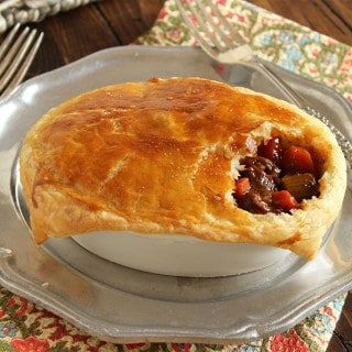 Super Simple Guinness Beef Pies
