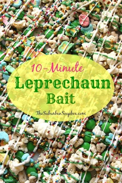 10-Minute Leprechaun Bait   The Suburban Soapbox #leprechaunbait #stpatricksday