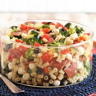 Chopped Italian Pasta Salad
