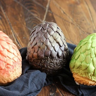 Chocolate Game of Thrones Dragon Eggs