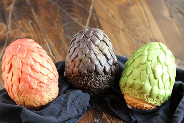 Chocolate Game of Thrones Dragon Eggs  | The Suburban Soapbox