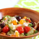 Greek Cucumber Salad 3