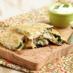 Spinach Artichoke Quesadilla