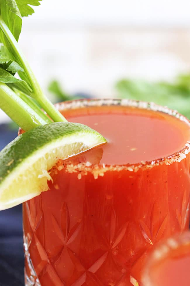 Bloody Margarita | The Suburban Soapbox #brunchweek #cincodemayo #margarita