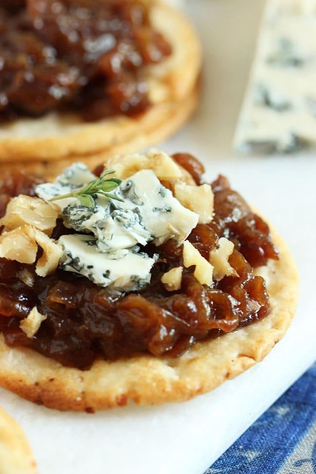 Sweet Onion Marmalade #bretonglutenfree #clevergirls