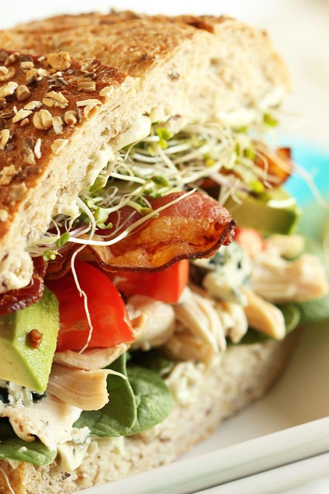California Cobb Sandwich | The Suburban Soapbox #sandwich #californiacobb