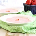Chilled Strawberry Soup #BrunchWeek