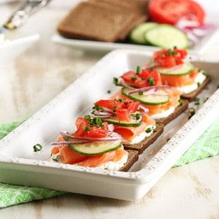 Breakfast archives page 9 of 14 the suburban soapbox for Smoked salmon cream cheese canape