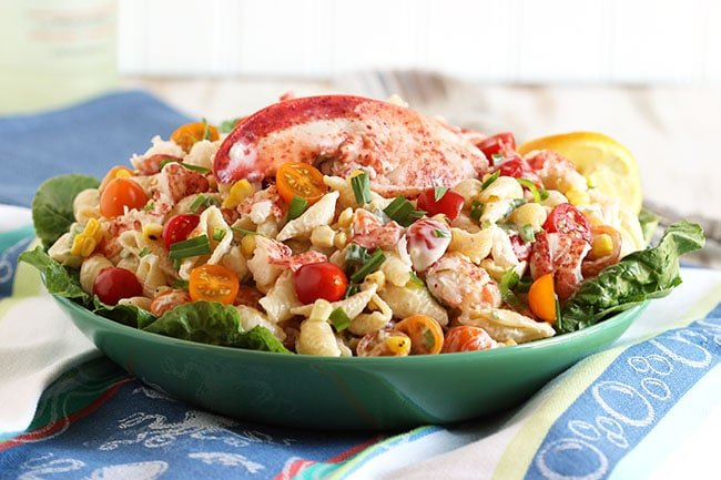 Lobster Pasta Salad with Lemon Tarragon Dressing - The ...