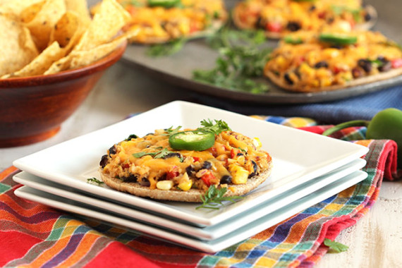 Southwestern Tuna Pizza