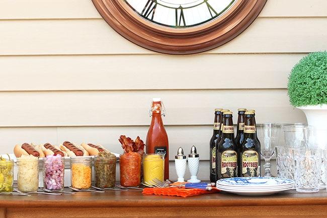 New York Style Hot Dog Onions | The Suburban Soapbox #hotdogbar #greatergrilling #hebrewnational