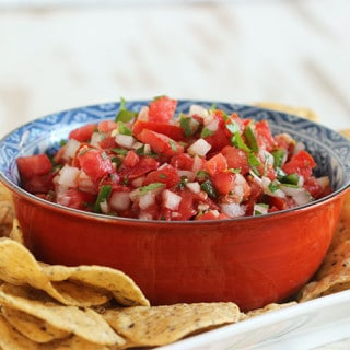 The Very Best Fresh Tomato Salsa