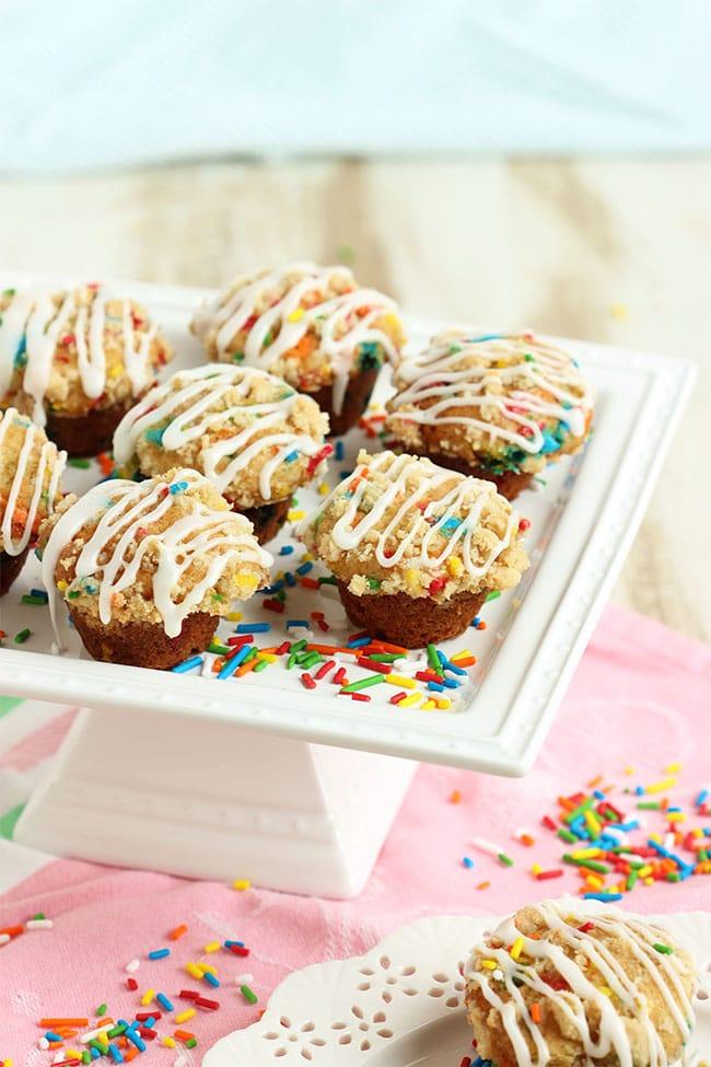 Funfetti Coffee Cake Muffins 6