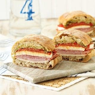 Italian Pressed Picnic Sandwich