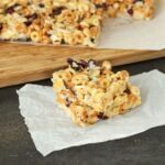 No-Bake Trail Mix Cereal Bars