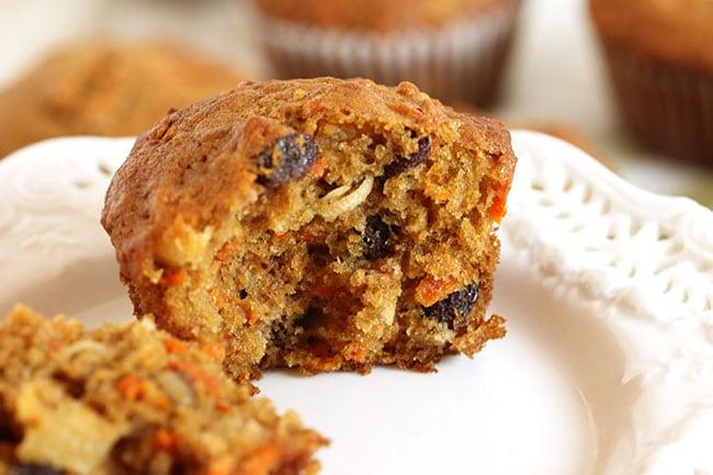 Morning Glory Muffins   The Suburban Soapbox #morninglorymuffin