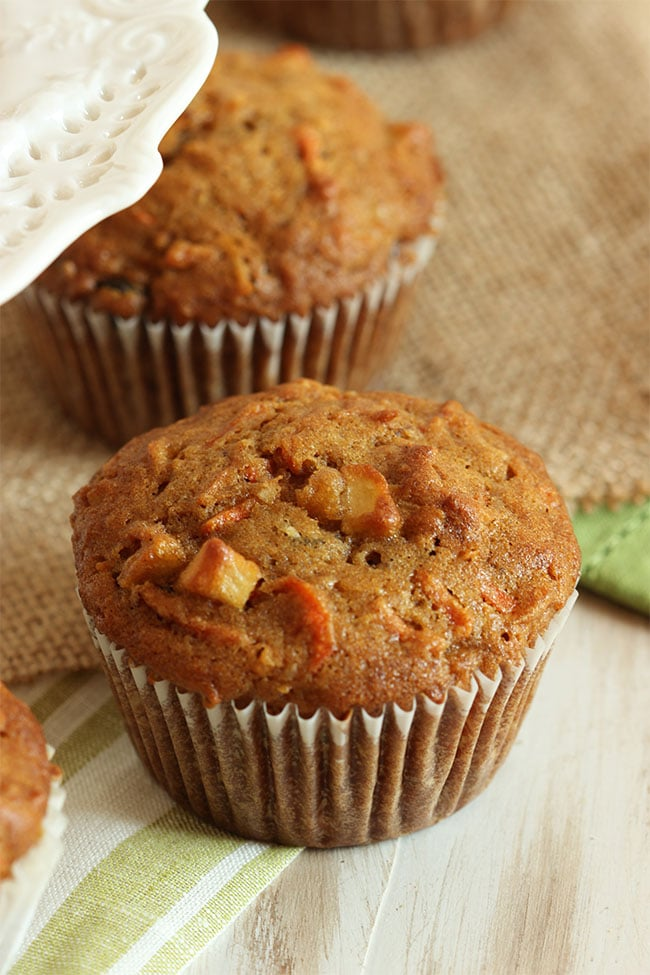 Morning Glory Muffins | The Suburban Soapbox #morninglorymuffin