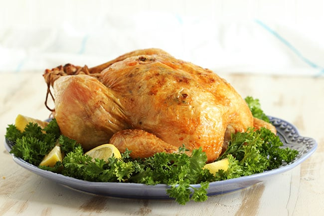 Simple Roast Chicken | The Suburban Soapbox #ALDI #BackToSchool