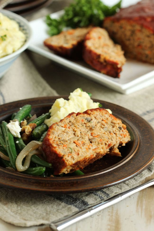 Double Glazed Turkey Meatloaf | The Suburban Soapbox #meatloaf