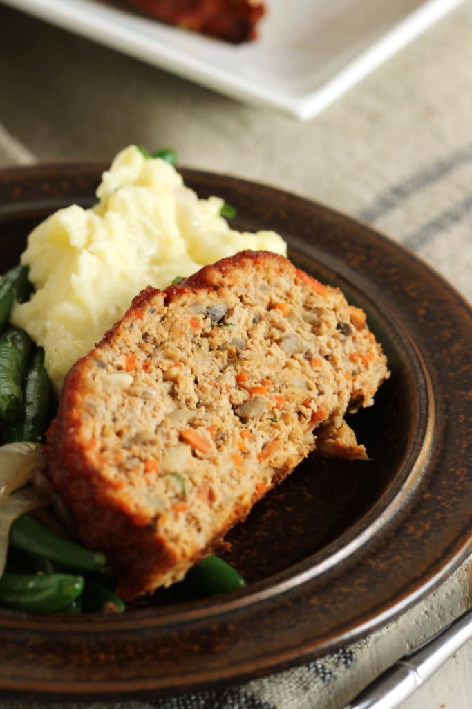 Double Glazed Turkey Meatloaf | The Suburban Soapbox #turkeymeatloaf