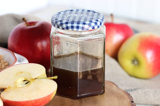 how to make apple syrup