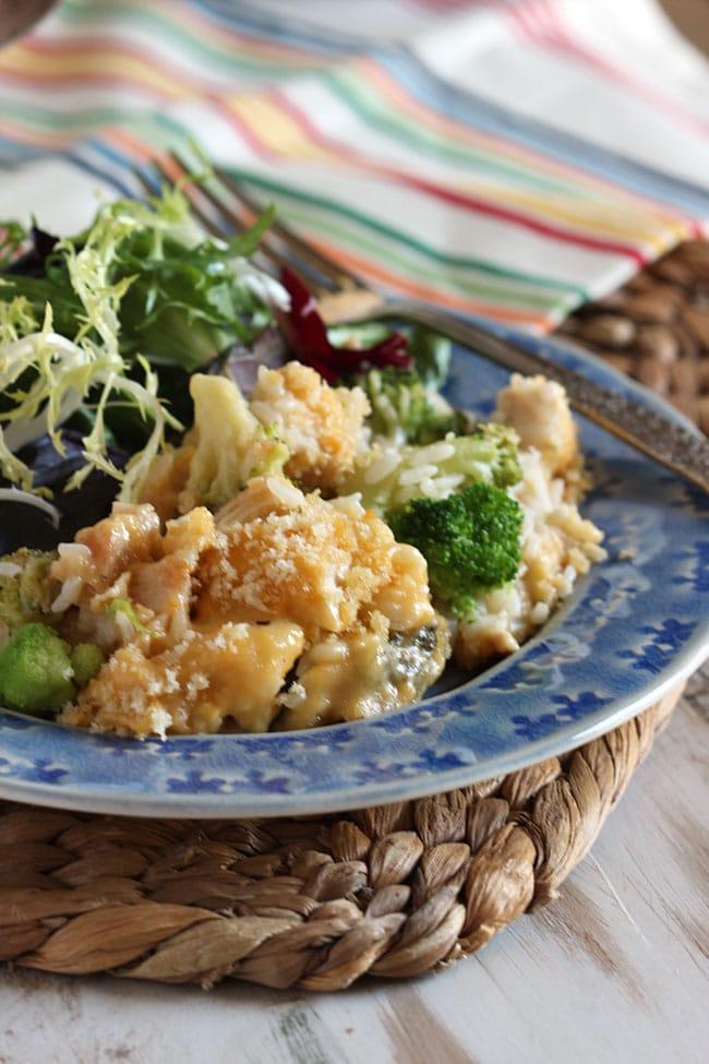 Chicken Divan Casserole | The Suburban Soapbox