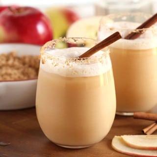 Apple Cider Gin Fizz