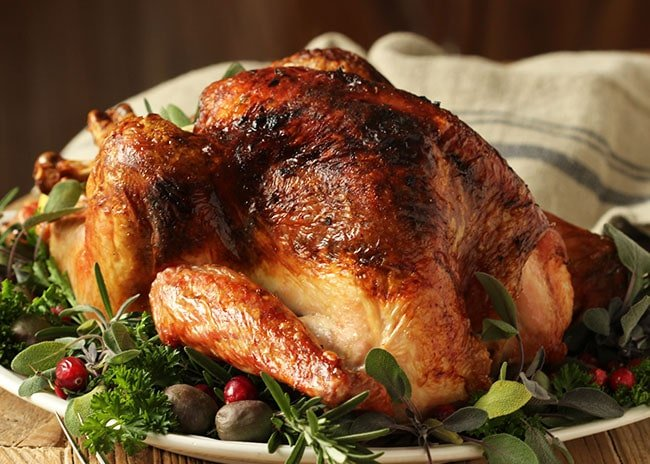 Citrus and Herb Butter Roasted Turkey