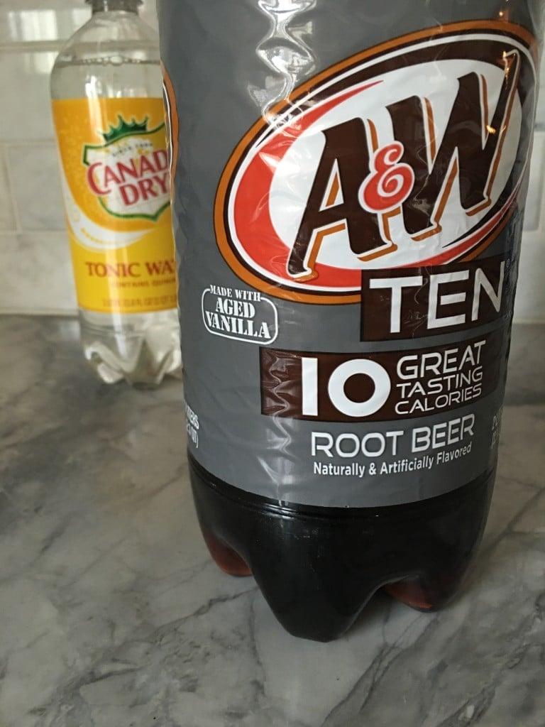 Root Beer Float Poke Cake   The Suburban Soapbox #BrighTENtheSeason