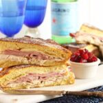Monte Cristo Sandwich with Cranberry Jam