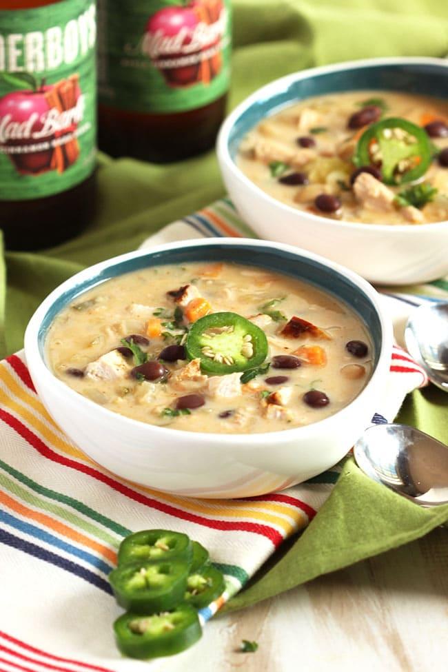 Easy Turkey Tortilla Soup | The Suburban Soapbox #thanksgivingleftovers